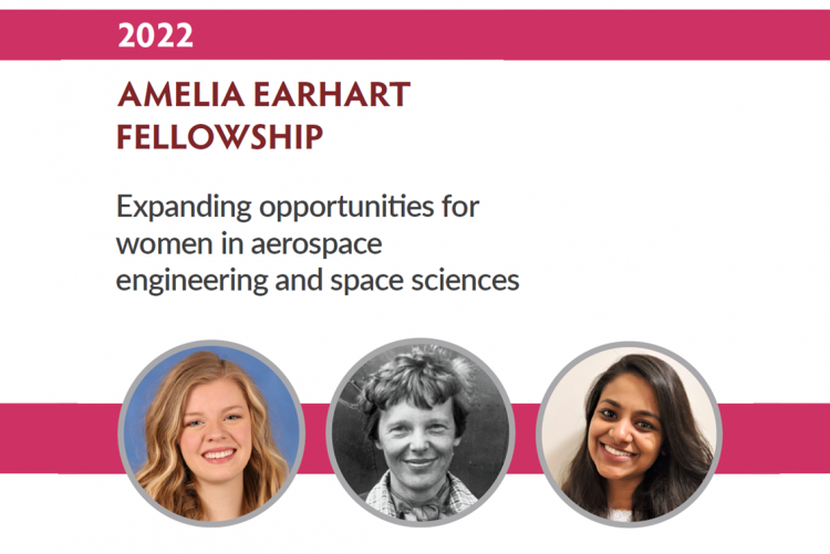 Amelia Earhart Fellowship 2022